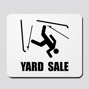 Ski Yard Sale Mousepad