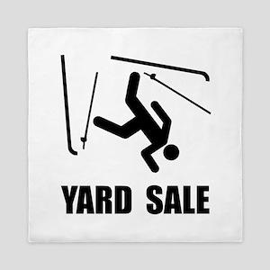 Ski Yard Sale Queen Duvet