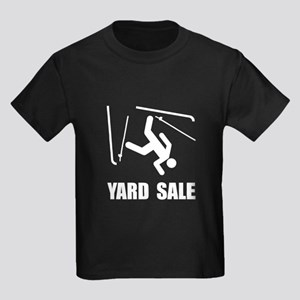 Ski Yard Sale Kids Dark T-Shirt