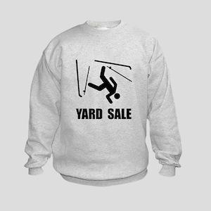 Ski Yard Sale Kids Sweatshirt