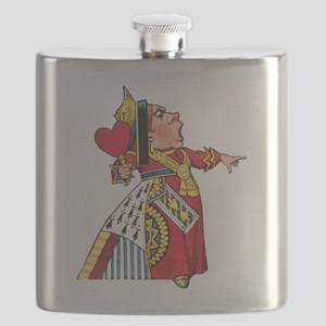 The Queen of Hearts Flask