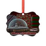 Christmas Snow Globe Ornament