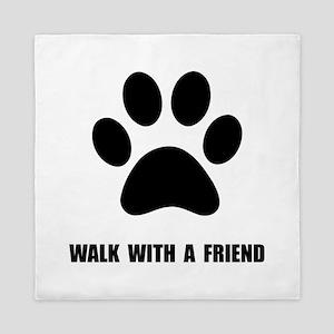 Walk Pet Queen Duvet