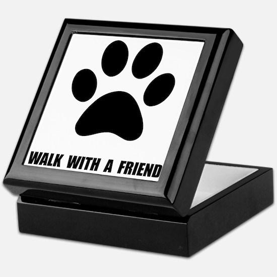 Walk Pet Keepsake Box