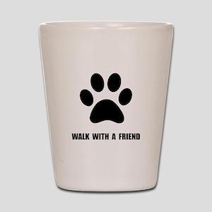 Walk Pet Shot Glass