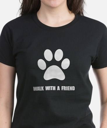 Walk Pet Women's Dark T-Shirt