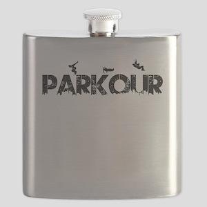 Parkour Crew Flask