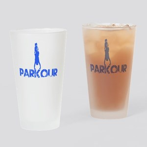 Blue, Parkour, Hand Stand, Drinking Glass
