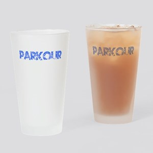 Blue, PARKOUR, Aged, Drinking Glass