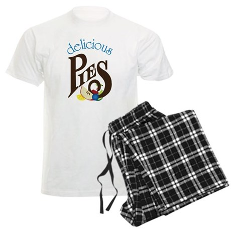 Delicious Pies Men's Light Pajamas