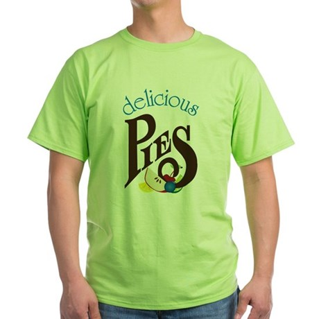 Delicious Pies Green T-Shirt