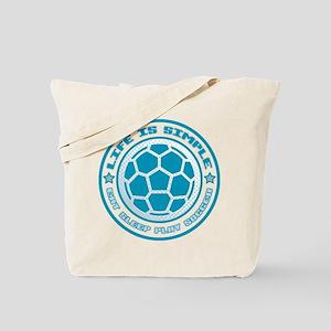 Eat, Sleep, Play Soccer Tote Bag