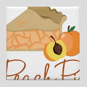 Peach Pie Tile Coaster