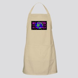 My sister has the best sister in the world Apron