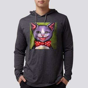 Yet Another Cat Laughing Mens Hooded Shirt