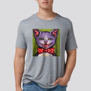 Yet Another Cat Laughing.pn Mens Tri-blend T-Shirt