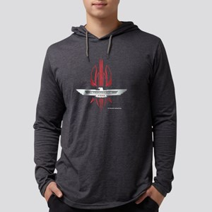 t_bird_Emblem_pinstripes_white.p Mens Hooded Shirt