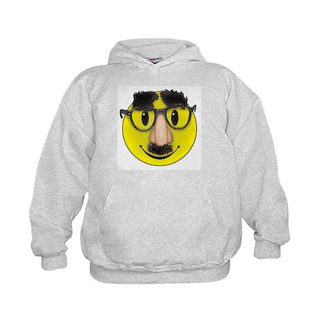 Smiley Disguise Kids Hoodie