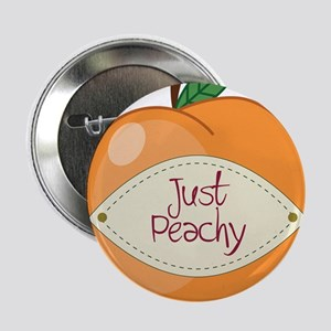 "Just Peachy 2.25"" Button"