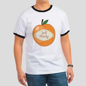 Just Peachy Ringer T