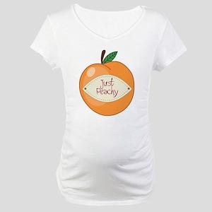 Just Peachy Maternity T-Shirt