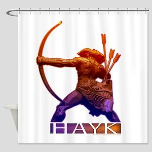 Hayk the Hero Shower Curtain