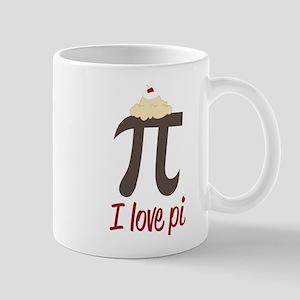 I Love Pi Mug