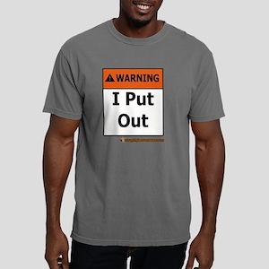 WarningIPutOut copy Mens Comfort Colors Shirt
