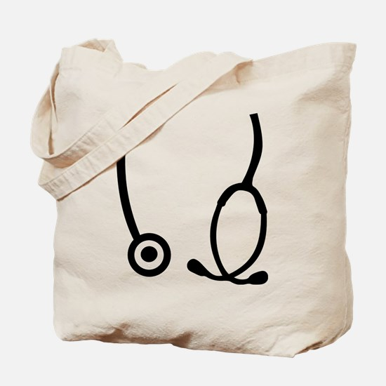 Stethoscope doctor Tote Bag