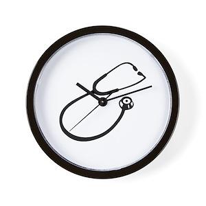 stethoscope wall clocks cafepress