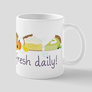 Made Fresh Daily Mug
