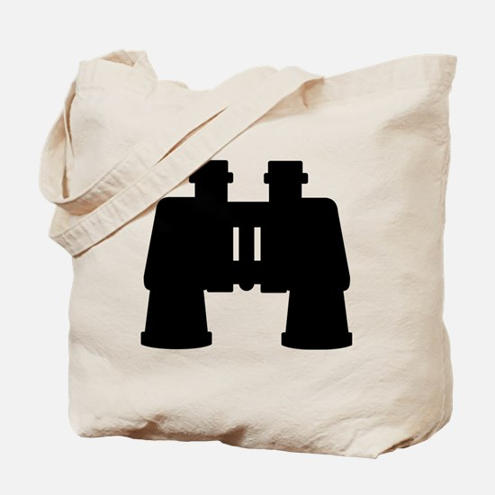 Binoculars Tote Bag