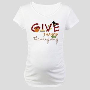 Thanksgiving Maternity T-Shirt