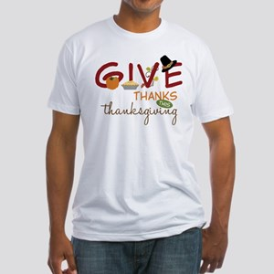 Thanksgiving Fitted T-Shirt