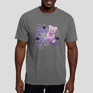 I Love My Sister Beary M Mens Comfort Colors Shirt