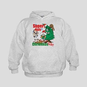 Super Ugly Christmas Shirt Kids Hoodie