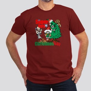Super Ugly Christmas Shirt Men's Fitted T-Shirt (d