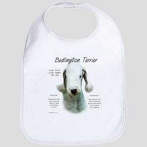 Bedlington Terrier Cotton Baby Bib