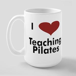 Large Mug - I Love Teaching Pilates