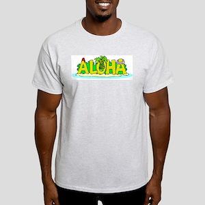Aloha Ash Grey T-Shirt