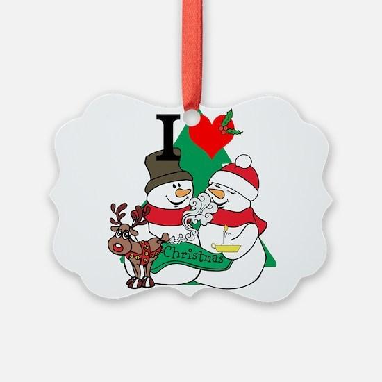 Smelling Deer Fart Ornament
