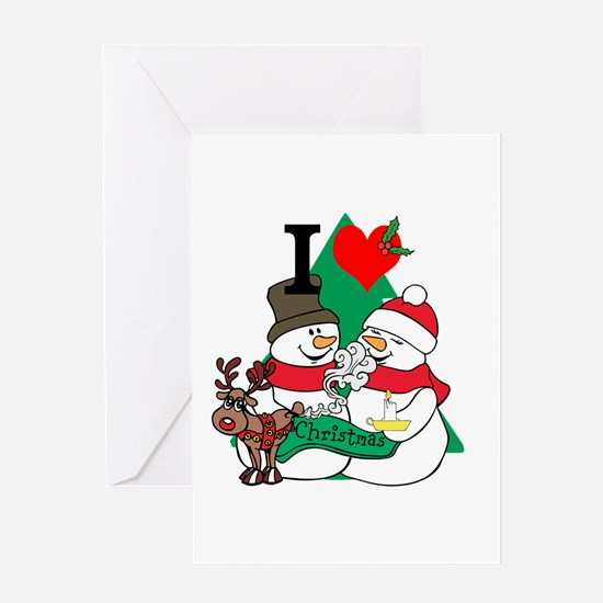Smelling Deer Fart Greeting Card