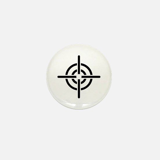 Crosshairs Mini Button