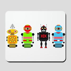 robots Mousepad