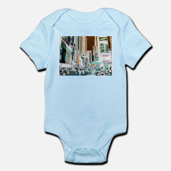 Times Square 3 Infant Bodysuit