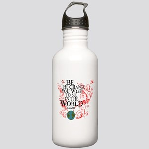 Be the Change - Earth - Red Vine Stainless Water B