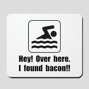 Found Bacon Mousepad