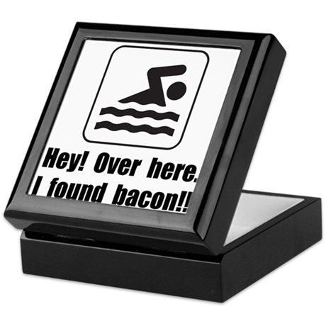 Found Bacon Keepsake Box