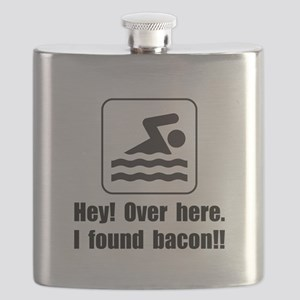 Found Bacon Flask