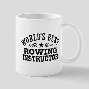 World's Best Rowing Instructor Mug